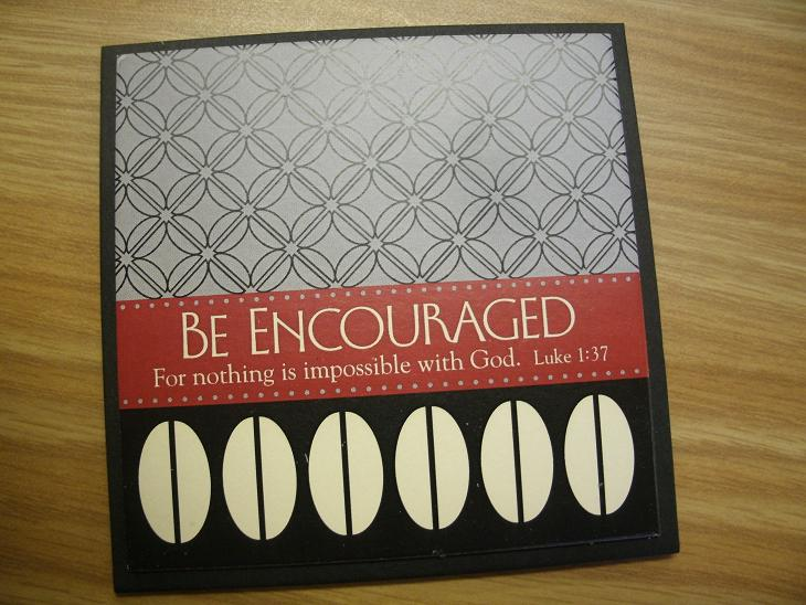 Be Encouraged Magnet
