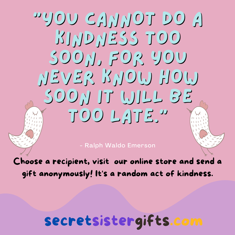 Send Gifts Anonymously for Random Acts of Kindness